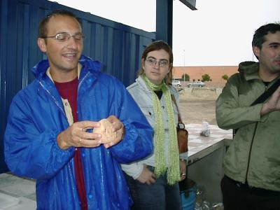 Visita al yacimiento arqueológico de Marroquies Bajos.